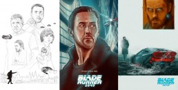 Blade Runner 2049 other alternative movie poster process