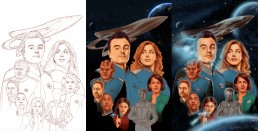The Orville alternative movie poster process