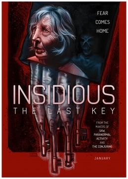 Insidious The Last Key alternative movie poster
