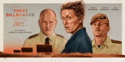 Three Billboards Outside Ebbing Missouri alternative movie poster