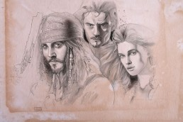 Pirates of the Caribbean illustration