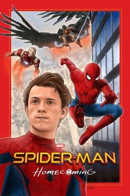 Spider-man Homecoming alternative movie poster