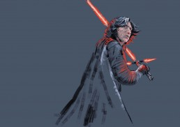 Kylo Ren illustration