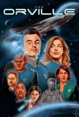 The Orville alternative poster