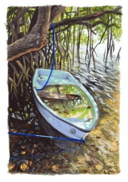 Bermuda Boat painting