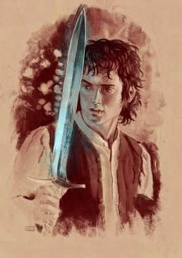 Frodo painting