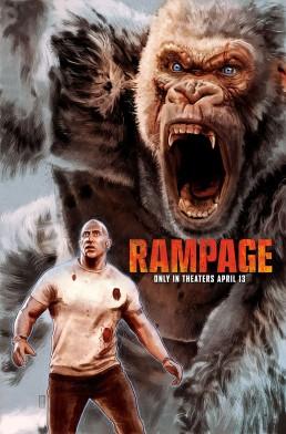 Rampage alternative movie poster