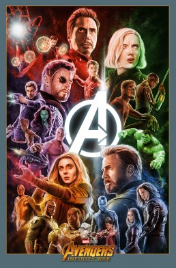 Avengers Infinity War alternative movie poster
