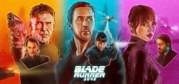 Blade Runner 2049 triptych alternative movie poster
