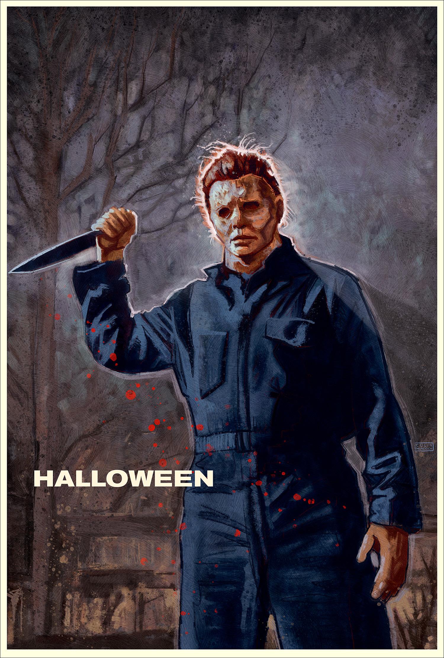 Halloween Poster Art.Halloween Colin Murdoch Art
