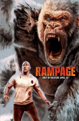 Rampage alternative movie poster preview