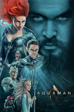 Aquaman alternative movie poster 2