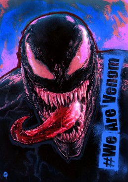 venom alternative movie poster version 2
