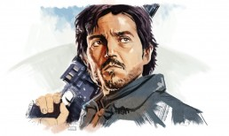cassian rogue one sketch