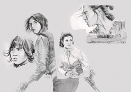star wars women sketch