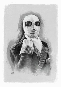 the invisible man illustration