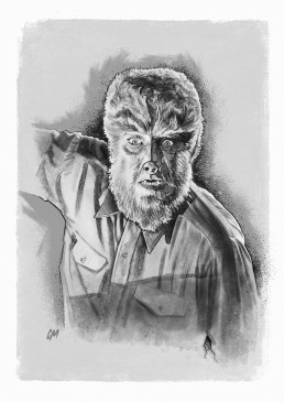 wolfman illustration