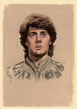 Paul Atreides from Dune sketch