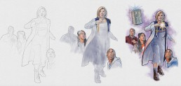 dr who painting process