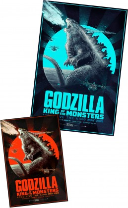 godzilla alternative movie poster version 2