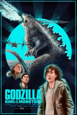 godzilla alternative movie poster version 2b