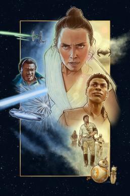 star wars the rise of skywalker alternative movie poster
