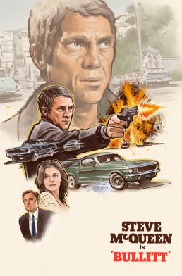bullitt alternative movie poster