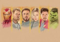 avengers sketch