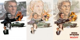 bullitt alternative movie poster process