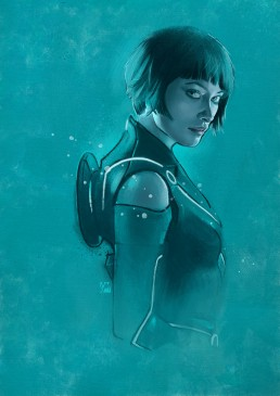 quorra from tron
