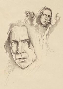 professor-snape-sketch