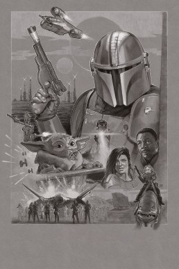 the-mandalorian-alternative-movie-poster-black-and-white