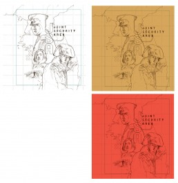 joint-security-area-blu-ray-cover-colour-sketch